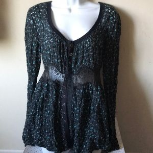 Free People Tops - Free People Floral Button Down Top